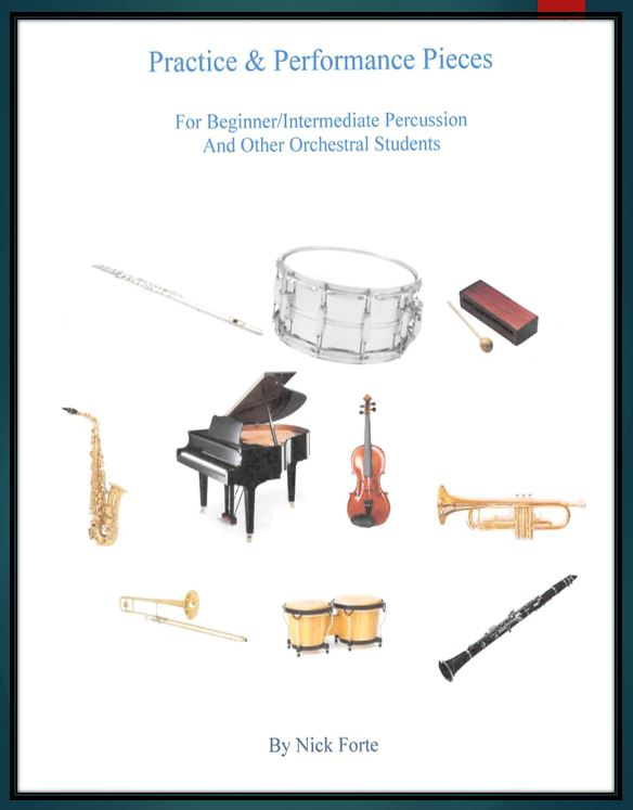 Music Publications by Master Drum Instructor Nick Forte